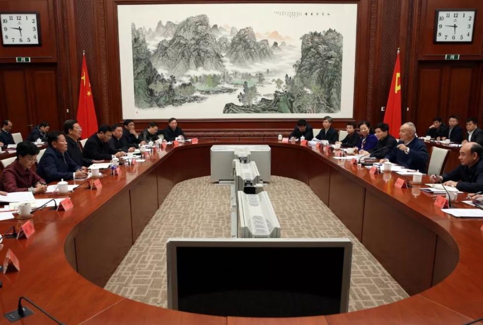 西藏自治区党政代表团赴京回访参观考察