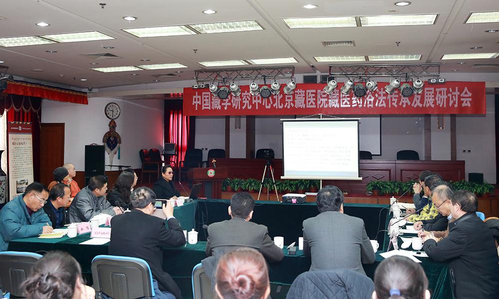专家学者齐聚北京藏医院 共商藏医药发展大计