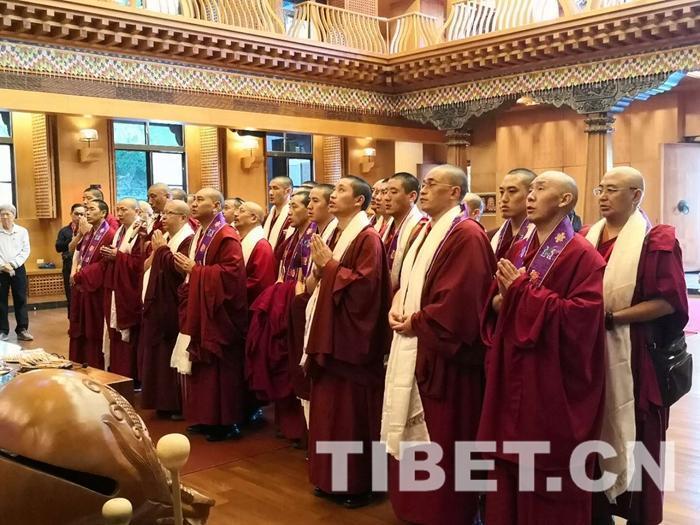 中国藏语系高级佛学院交流团赴高雄古严寺讲经弘法