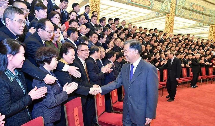 汪洋会见中国基督教第十次代表会议代表并提出四点希望