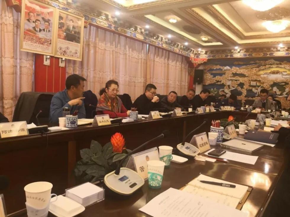 区政协经济和人口资源环境委员会与非公经济企业代表座谈