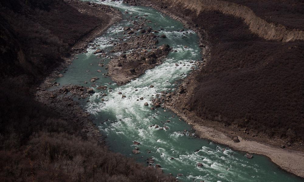 靓!一览原始状态的西藏河湖
