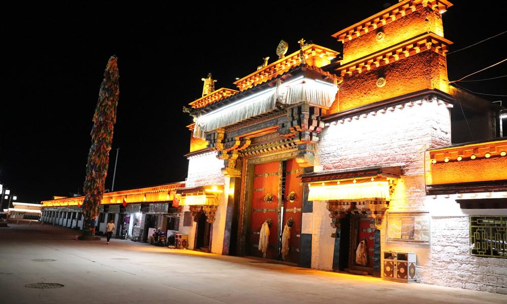 【图集】川藏线上的强巴林寺:康区规模最大的格鲁派寺庙