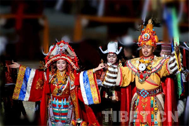 Villagers in Tibet benefit from culture industry