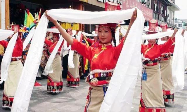 Konsumartikel für das Neujahrsfest von Tibet
