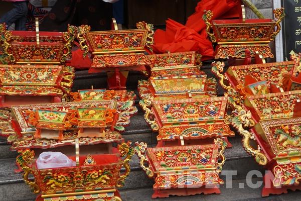Vorbereitungen für tibetisches Neujahr