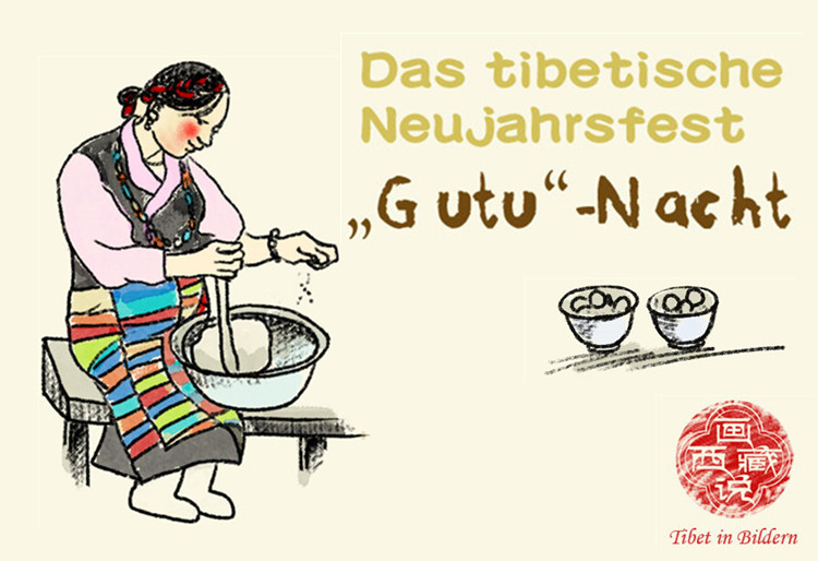 """Das tibetische Neujahrsfest: """"Gutu""""-Nacht"""