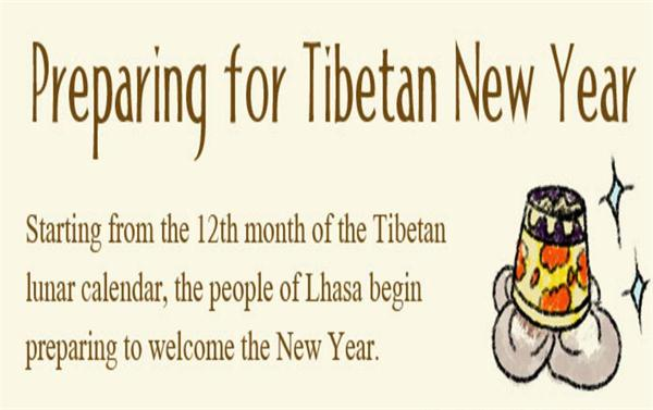 [Illustration] Tibetan New Year: preparing for Losar