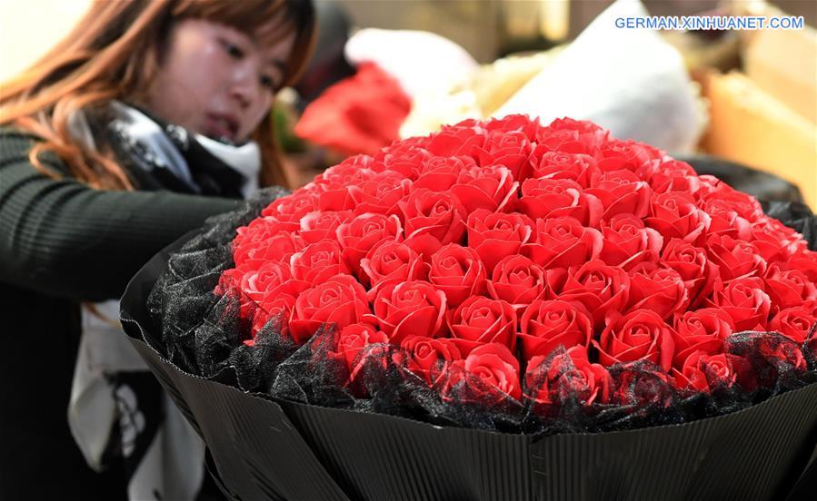Blumenindustrie in Yunnan boomt
