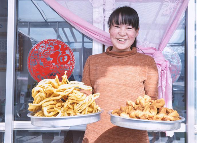 Viel Neujahrsstimmung in den Dörfern Qinghais
