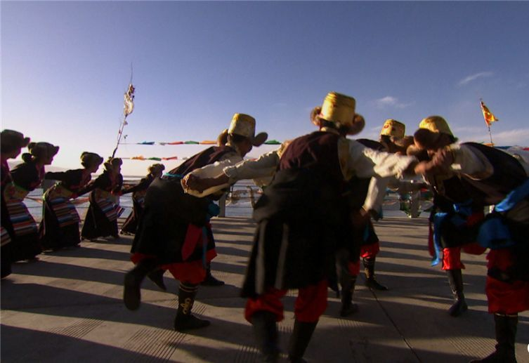 New Year customs in Chanang, southwest China's Tibet