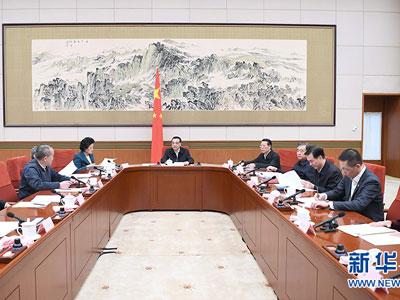 China: Sitzung über Rechenschaftsbericht der Regierung