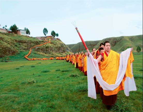 Kultur des tibetischen Buddhismus in Bildern (Teil 1)