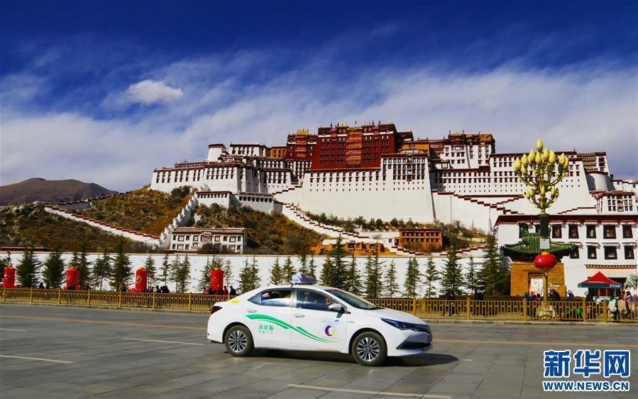 Over half of Lhasa's bus fleet goes green