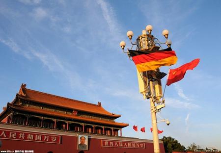 China nach wie vor Deutschlands wichtigster Handelspartner
