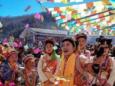 Traditional Shangjiu Festival celebrated in southwest China