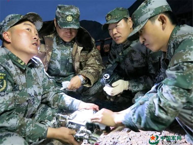 Duschinfrastruktur für Soldaten und Offiziere auf dem Hochplateau wird besser
