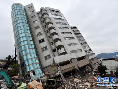 Neun Tote nach Erdbeben in Taiwan