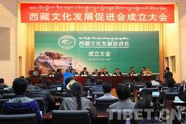 西藏文化发展促进会第二届会员代表大会成立