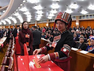 Chinas NVK gibt grünes Licht für Verfassungsänderung
