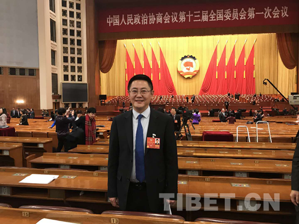 """Zhang Xiao: ?Ich bin neues Mitglied und vor allem Kind von Tibet"""""""