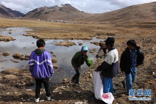 """Über 700.000 Nomaden Tibets werden zu """"Öko-Wächtern"""""""