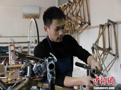 Bambusfahrräder: Made in China