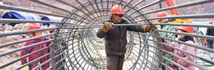 Erste hochgradige Straße in Tibet wird gebaut