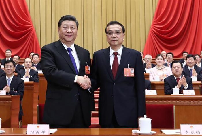 Li Keqiang als chinesischer Ministerpräsident bestätigt