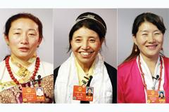人大代表从西藏来