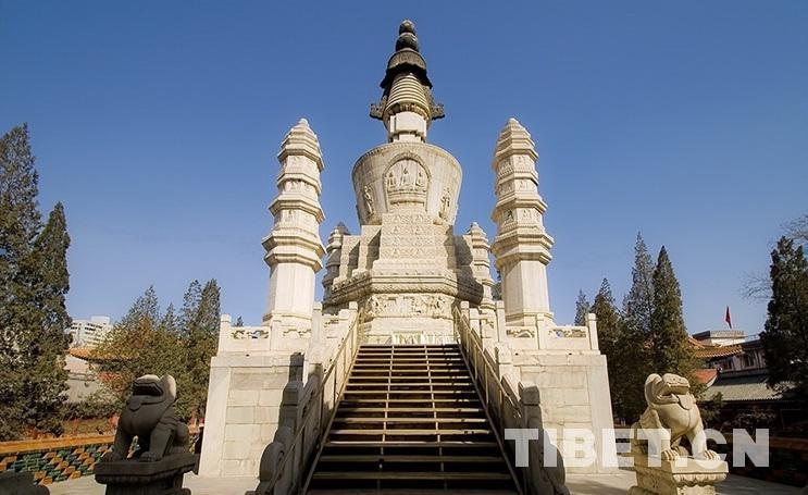 Qingjing-Huacheng-Pagode: Eine feine buddhistische Pagode