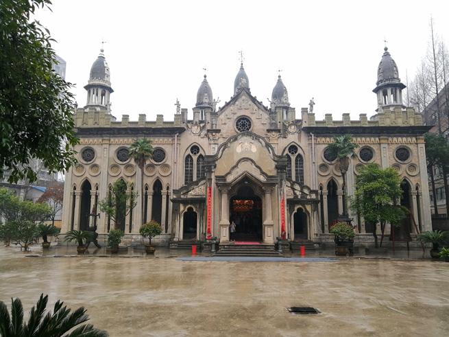 Der buddhistische Gude-Tempel in Wuhan – ein einzigartiger Mix architektonischer Stile