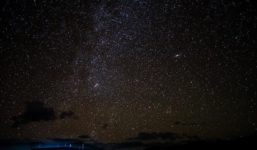 Tibet reserves save skies from light pollution