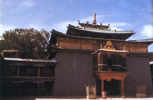 Das Shalu-Kloster in Süd-Tibet