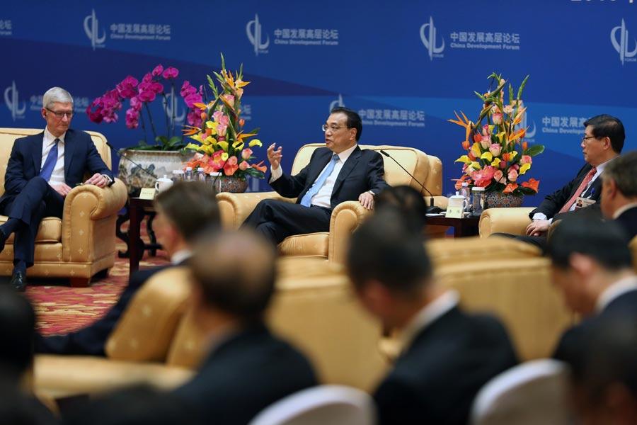 """Chinas Ministerpräsident: """"Verschlossene Türen schaden allen"""""""