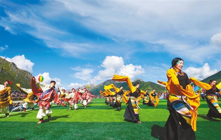 Happy life in Tibet