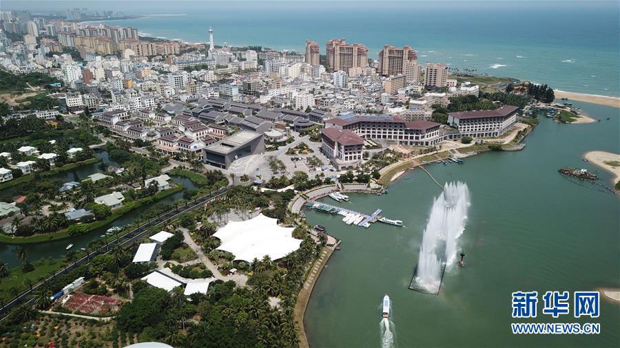 Hainan: Boao aus der Vogelperspektive