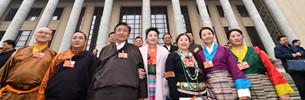 Stimmen der NVK-Abgeordneten aus Tibet