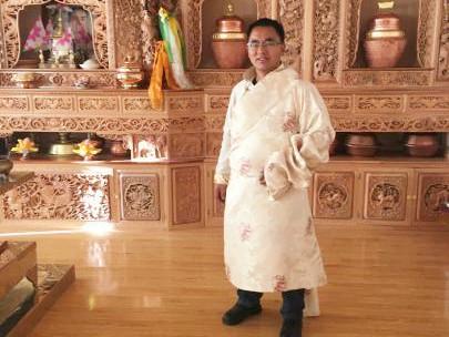Thangka-Meister in Deqen spendete in über 20 Jahren Millionen