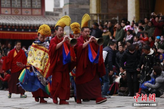 Prayer festival held in Ta'er Monastery