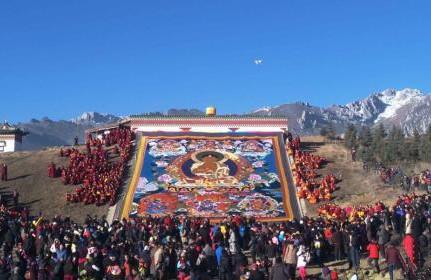 Gansu veranstaltet Maolanmu-Zeremonie