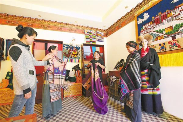 Autonomes Gebiet Tibet feiert Tag der Frauen am 8. M?rz