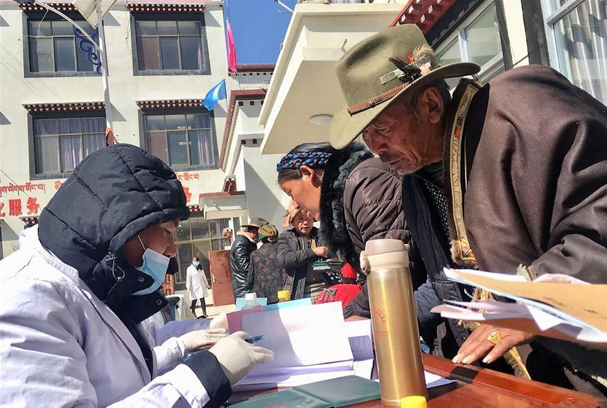 Tibet bietet seit 7 Jahren kostenlose Gesundheitschecks