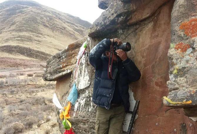 Stein-Kritzereien der Tubo-Zeit in Chamdo gefunden