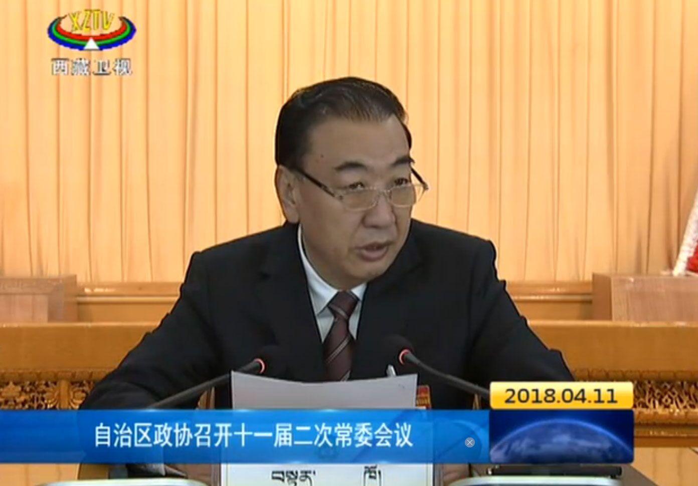 自治区政协召开十一届二次常委会议