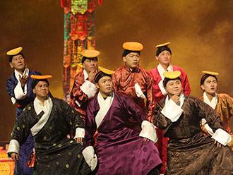 自治区藏剧团《六弦情缘》巡演在山南市启动