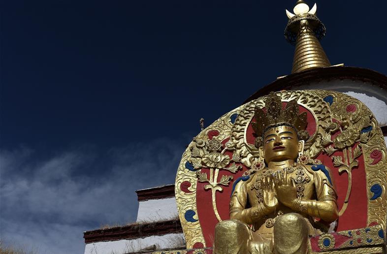 Die Zangniang-Pagode – antikes Wahrzeichen des tibetischen Buddhismus