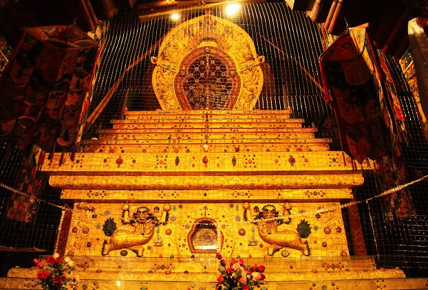 Archiv der nationalen Kunstschätze in Tibet: Der Stupa des 5. Dalai Lama