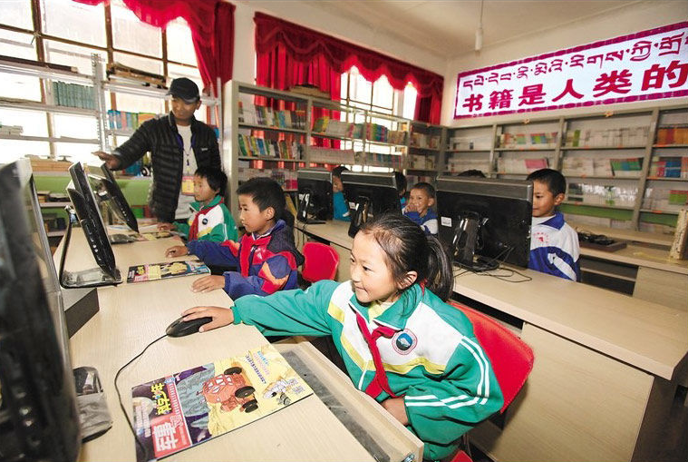 Education improved in remote areas in Tibet