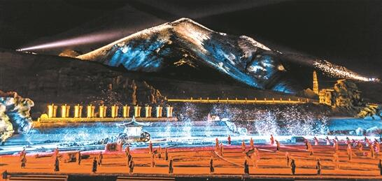 Large-scale epic drama Princess Wencheng reopens
